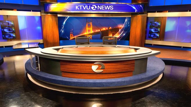 KTVU - Oakland - News Sets Set Design - 2