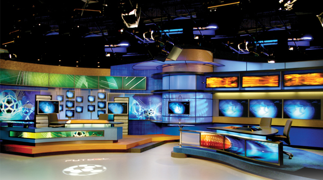 Multimedios - Monterrey, Mexico - Sports Sets Set Design - 1