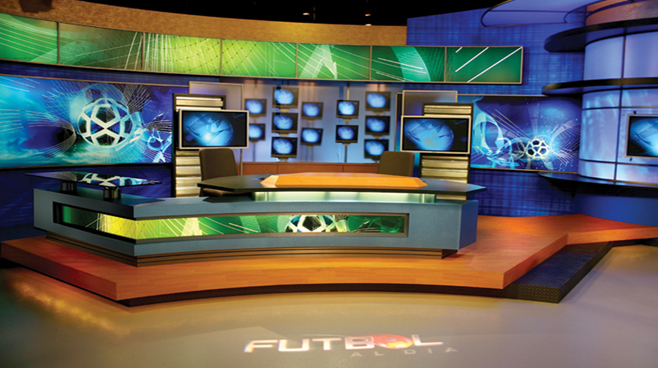 Multimedios - Monterrey, Mexico - Sports Sets Set Design - 2