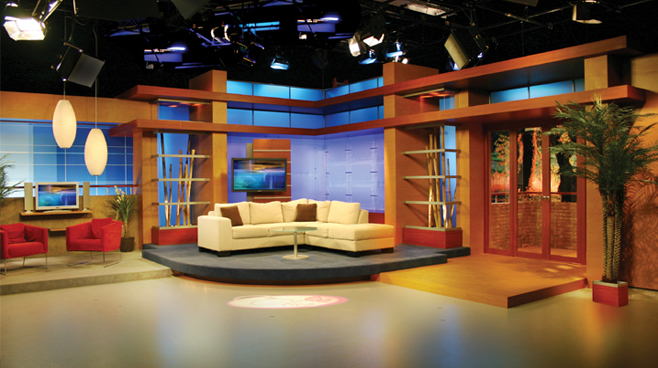 Multimedios - Monterrey, Mexico - Talk Shows Set Design - 1