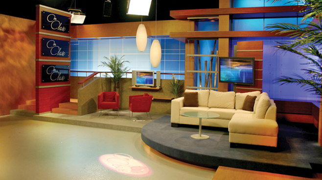 Multimedios Set Design