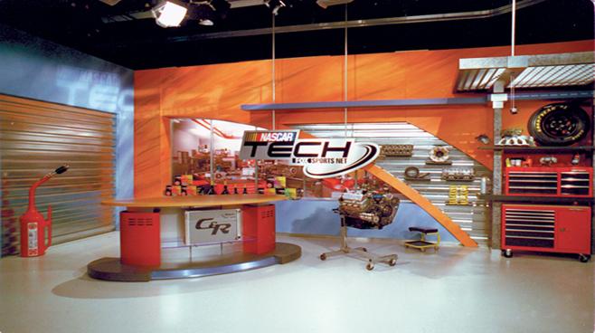 FOX Nascar -  - Sports Sets Set Design - 2