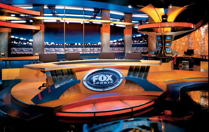 FOX NFL - Los Angeles - Sports Sets Set Design - 1