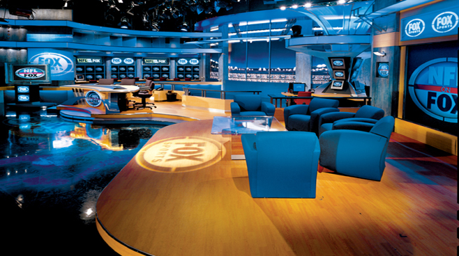 FOX NFL - Los Angeles - Sports Sets Set Design - 2
