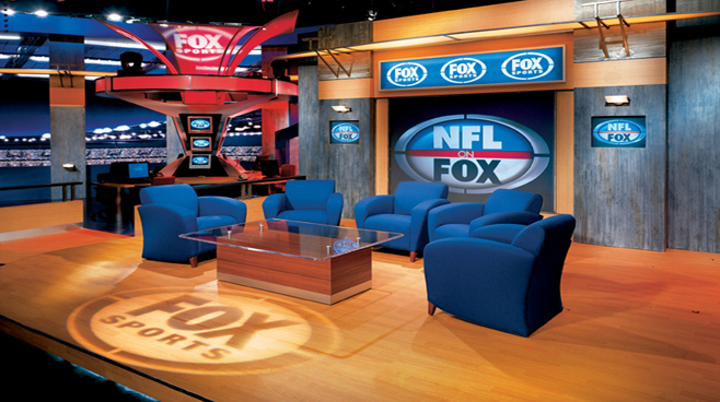 FOX NFL - Los Angeles - Sports Sets Set Design - 3