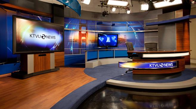 KTVU - Oakland - News Sets Set Design - 3