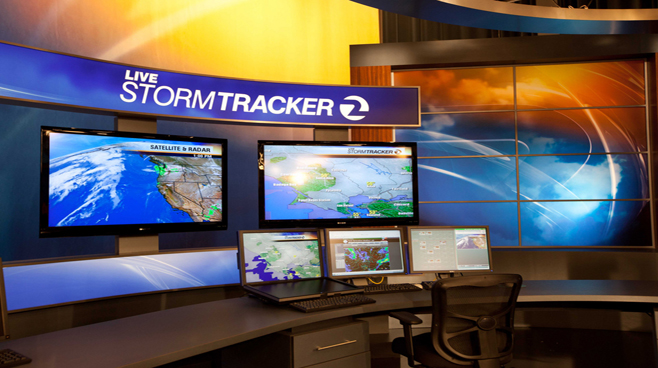KTVU - Oakland - Weather Centers Set Design - 1