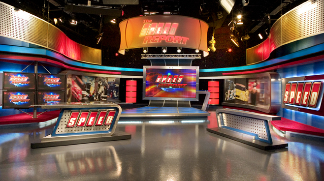Speed Channel -  - Sports Sets Set Design - 1