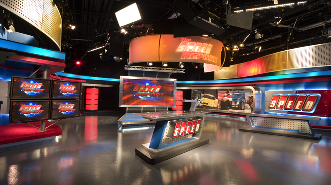 Speed Channel -  - Sports Sets Set Design - 2