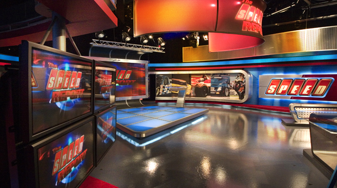 Speed Channel -  - Sports Sets Set Design - 3