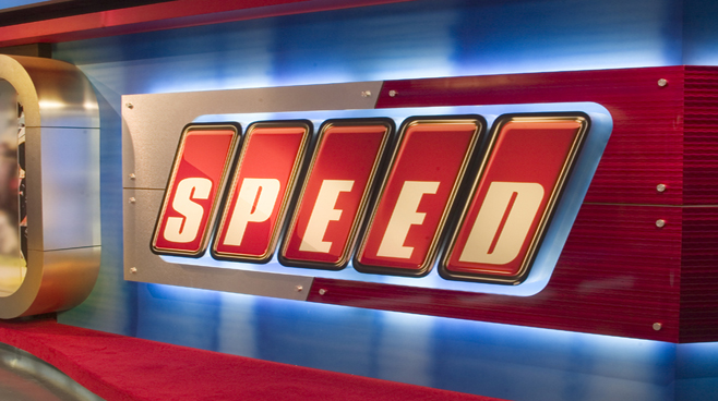 Speed Channel -  - Sports Sets Set Design - 4
