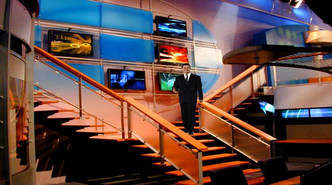 Televisa - Mexico City - Newsrooms Set Design - 2