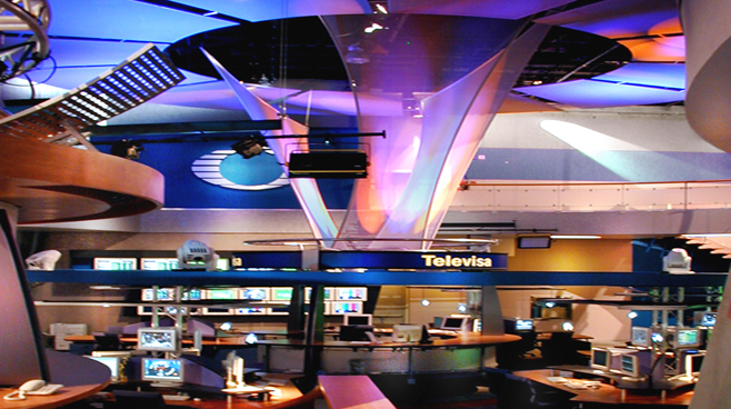 Televisa - Mexico City - Newsrooms Set Design - 3
