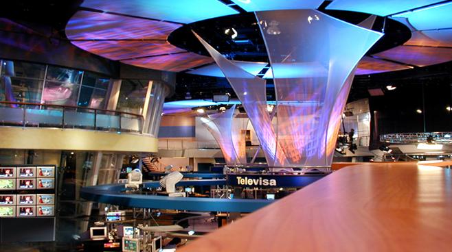 Televisa - Mexico City - Newsrooms Set Design - 4