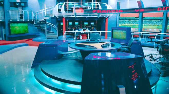 Televisa - Mexico City - Sports Sets Set Design - 1