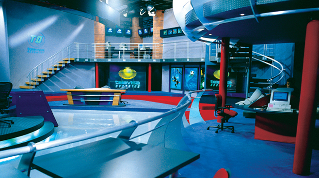 Televisa - Mexico City - Sports Sets Set Design - 2