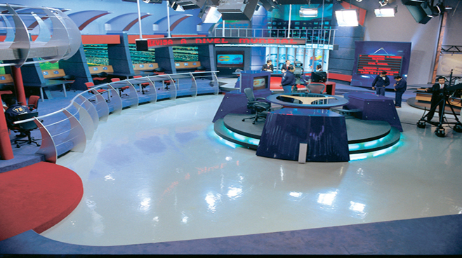 Televisa - Mexico City - Sports Sets Set Design - 3