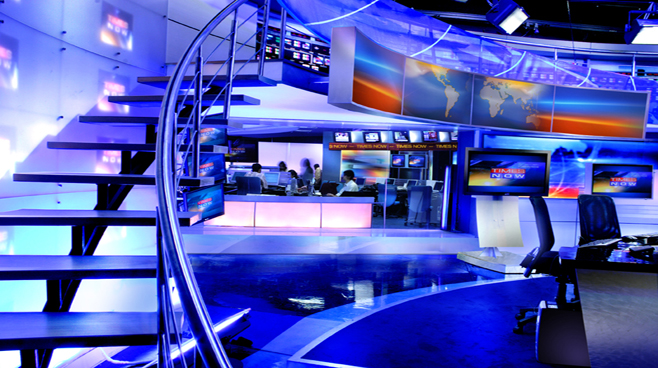 Times of India - India - Newsrooms Set Design - 1