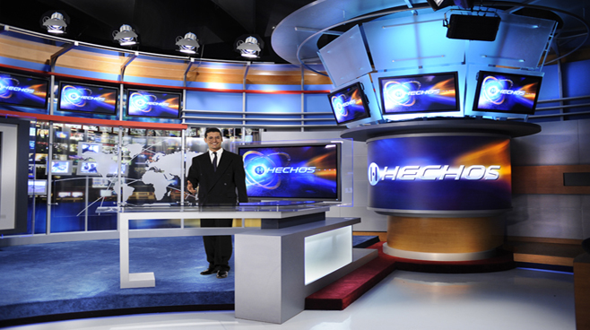 TV Azteca - Mexico - News Sets Set Design - 4