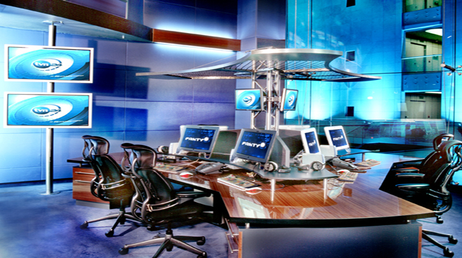 TVN - Warsaw - Newsrooms Set Design - 1