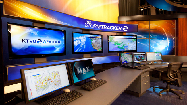 KTVU - Oakland - Weather Centers Set Design - 2
