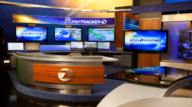 KTVU - Oakland - Weather Centers Set Design - 3