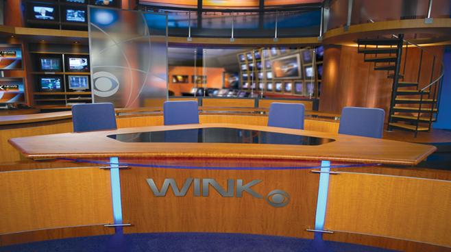 WINK - Fort Myers - News Sets Set Design - 2
