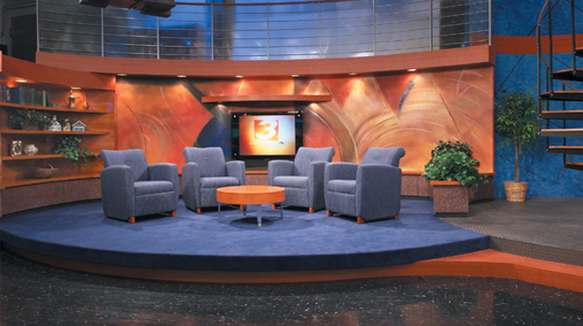 WKYC  - Cleveland - Talk Shows Set Design - 1