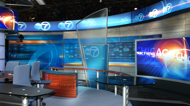 WLS - Chicago - News Sets Set Design - 3