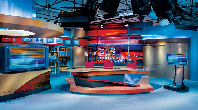 WXIN - Indianapolis - News Sets Set Design - 1