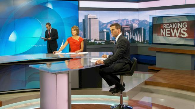 KSL - Salt Lake City, UT - News Sets Set Design - 1