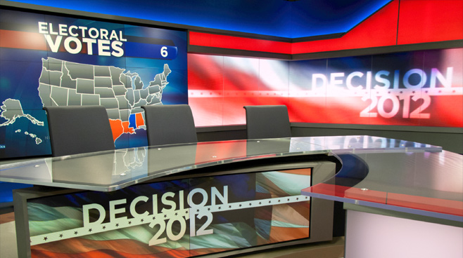 KSL - Salt Lake City, UT - News Sets Set Design - 4