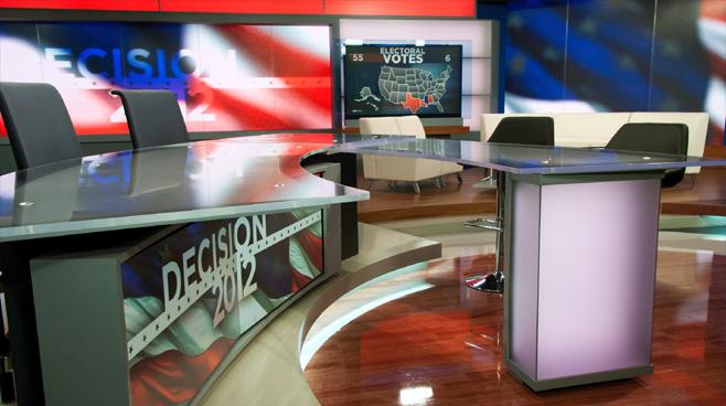 KSL - Salt Lake City, UT - News Sets Set Design - 5