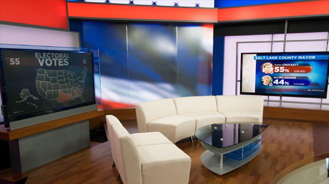 KSL - Salt Lake City, UT - News Sets Set Design - 6