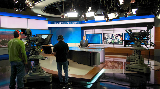 KSL - Salt Lake City, UT - News Sets Set Design - 7