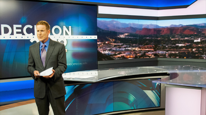 KSL - Salt Lake City, UT - News Sets Set Design - 8