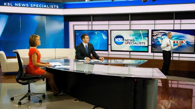 KSL - Salt Lake City, UT - News Sets Set Design - 9