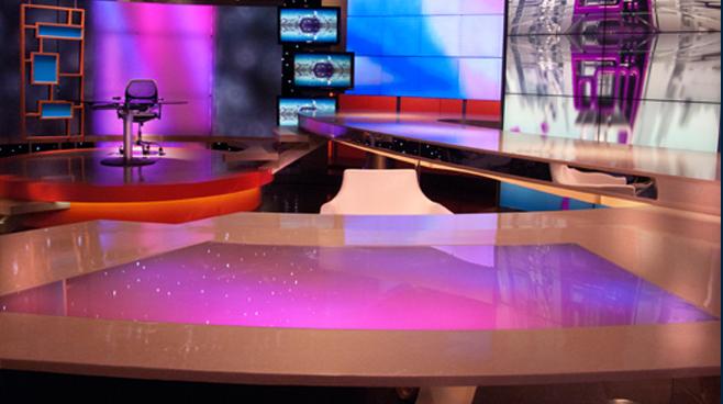 Al Shams Set Design - Talk Shows - Broadcast Design