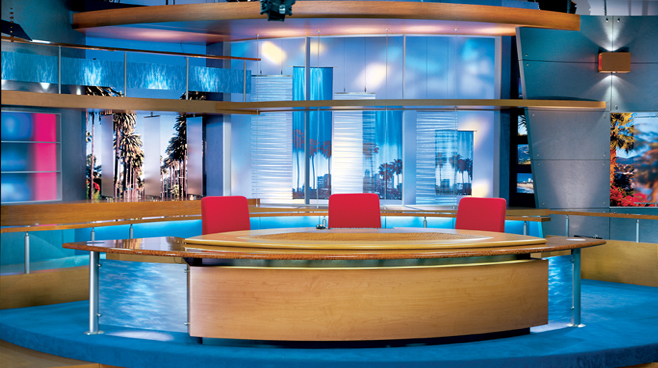 FOX Good Day LIve -  - Talk Shows Set Design - 2