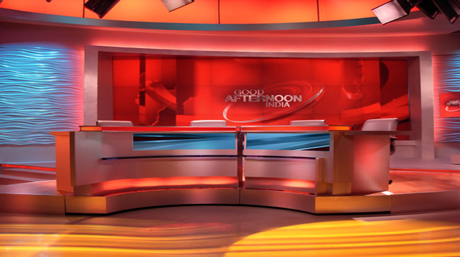 Network 18 -  - Talk Shows Set Design - 4
