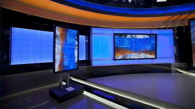 Jiangsu TV -  Nanjing, China - News Sets Set Design - 3