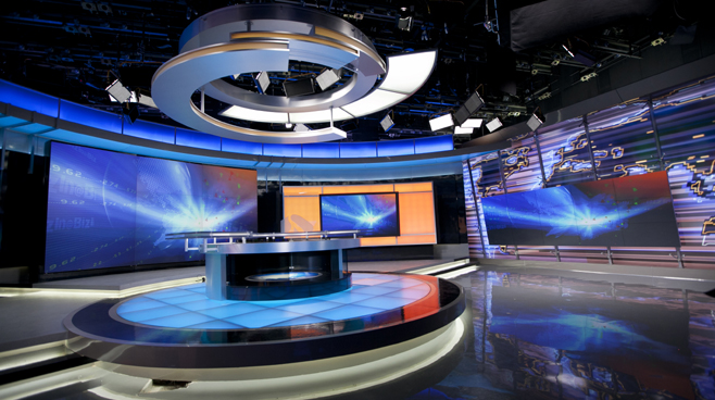 Jiangsu TV - Jiangsu, China - News Sets Set Design - 5