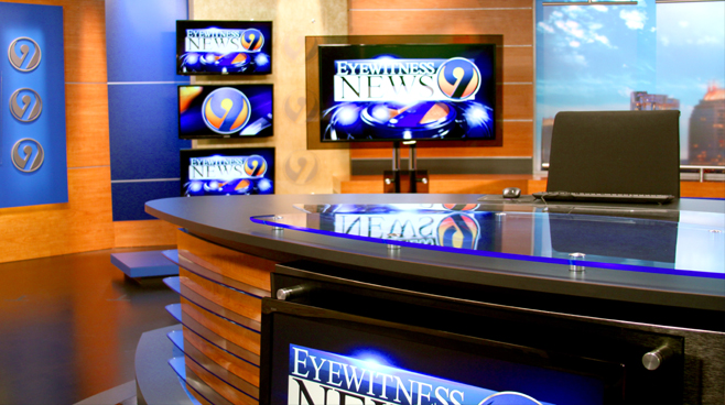WSOC - Charlotte, NC - News Sets Set Design - 1