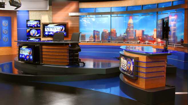 WSOC - Charlotte, NC - News Sets Set Design - 2