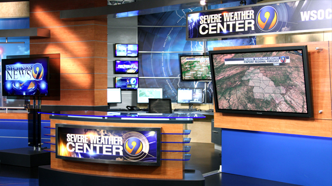 WSOC - Charlotte, NC - News Sets Set Design - 3