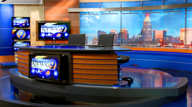 WSOC - Charlotte, NC - News Sets Set Design - 4