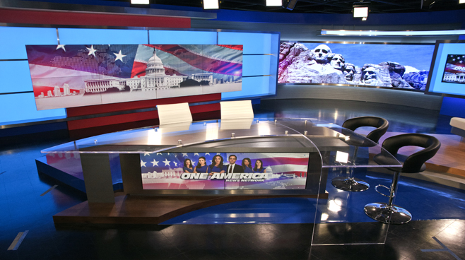 One America - National - News Sets Set Design - 1