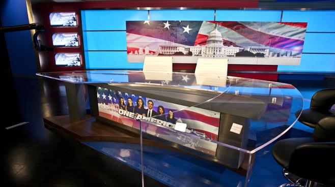 One America - National - News Sets Set Design - 3