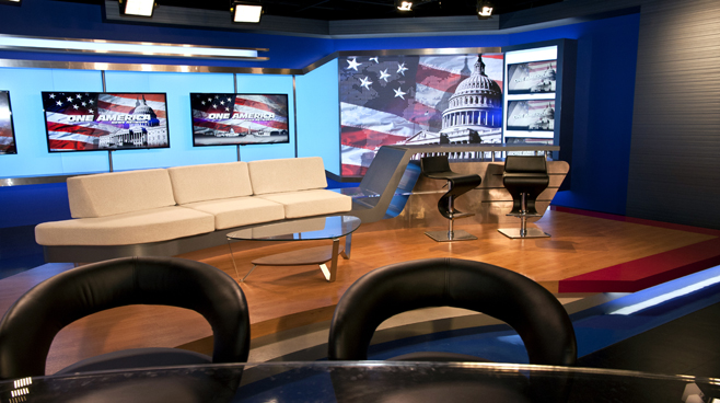 One America - National - Talk Shows Set Design - 3