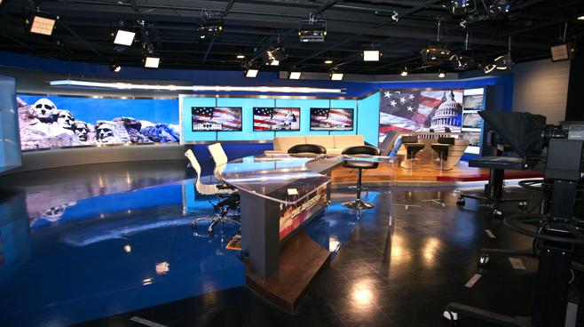 One America - National - News Sets Set Design - 9